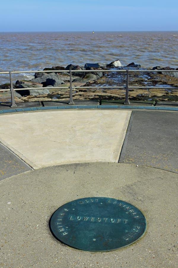 Σημείο της Ness, Lowestoft, Σάφολκ, UK στοκ φωτογραφία