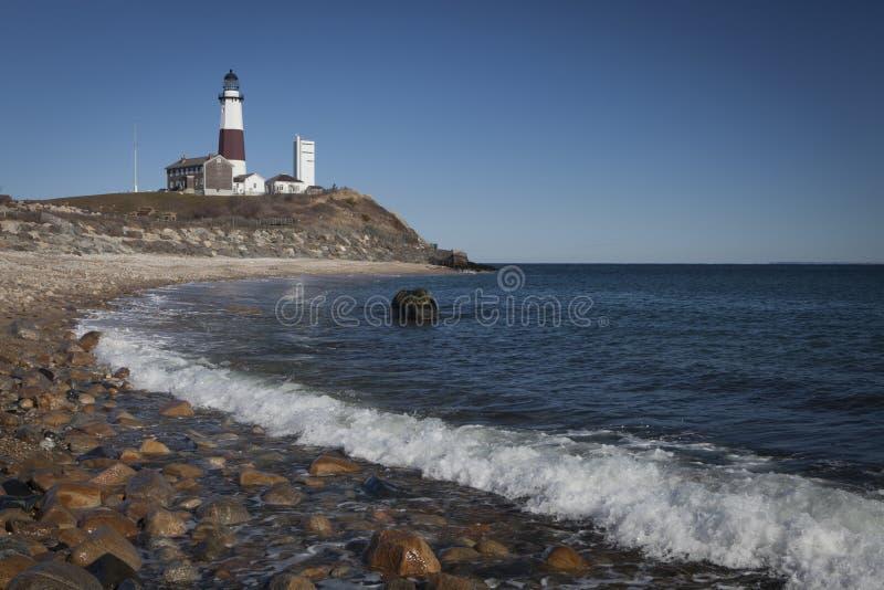 Download σημείο φάρων montauk στοκ εικόνες. εικόνα από νέος, cliff - 22777446