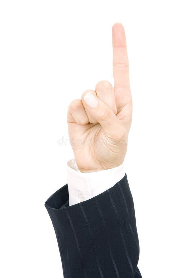 σημείο χεριών στοκ φωτογραφία