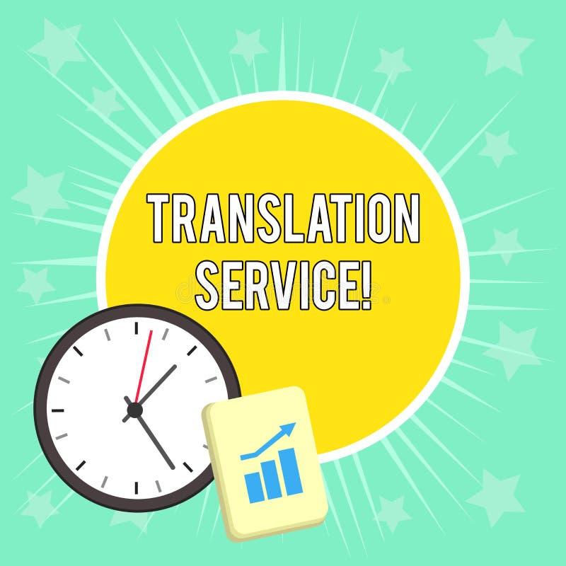 Σημείωση γραψίματος που παρουσιάζει μεταφραστική υπηρεσία Επιχειρησιακή φωτογραφία που επιδεικνύει την ισοδύναμη γλώσσα στόχο από απεικόνιση αποθεμάτων