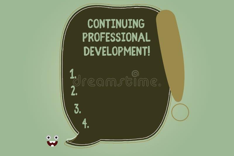 Σημείωση γραψίματος που παρουσιάζει συνεχιμένος επαγγελματική ανάπτυξη Διατήρηση επίδειξης επιχειρησιακών φωτογραφιών και ενίσχυσ απεικόνιση αποθεμάτων