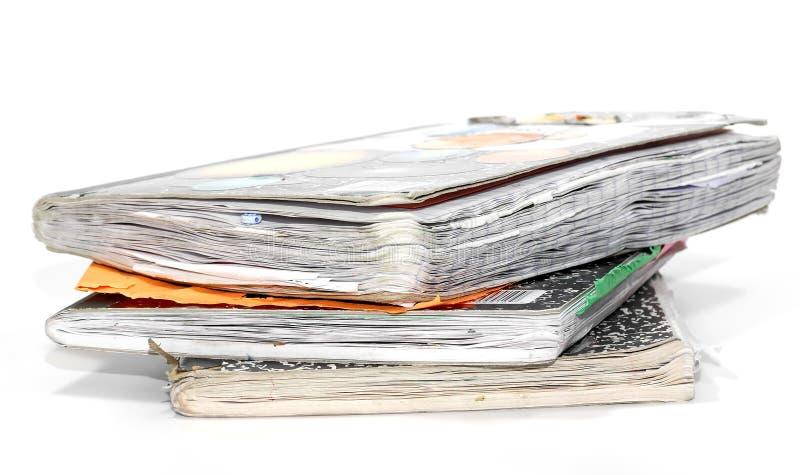 σημειωματάρια παλαιά στοκ φωτογραφία με δικαίωμα ελεύθερης χρήσης