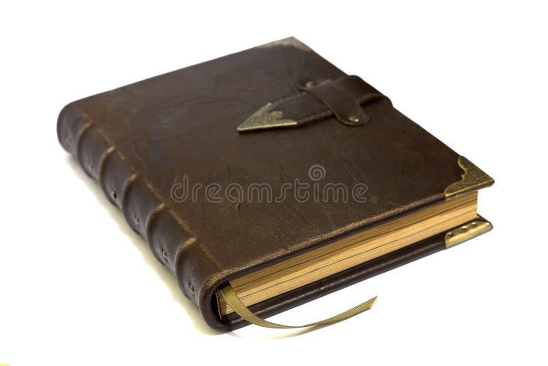 σημειωματάριο δέρματος στοκ εικόνα με δικαίωμα ελεύθερης χρήσης