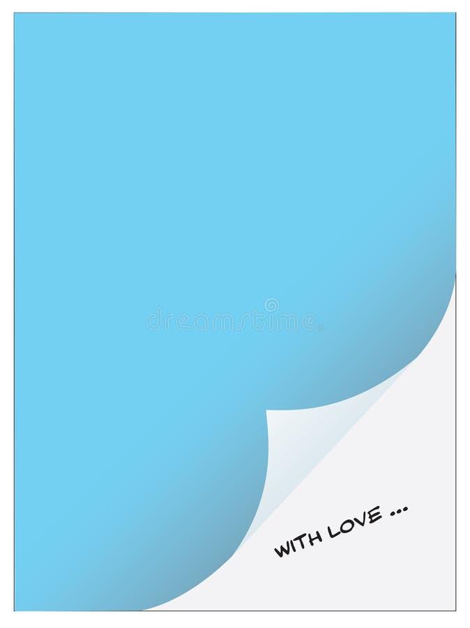 σημειωματάριο αγάπης ελεύθερη απεικόνιση δικαιώματος