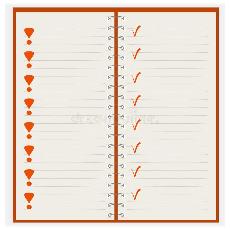 Download σημειωματάριο καθαρό διανυσματική απεικόνιση. εικονογραφία από κάρτα - 13189844