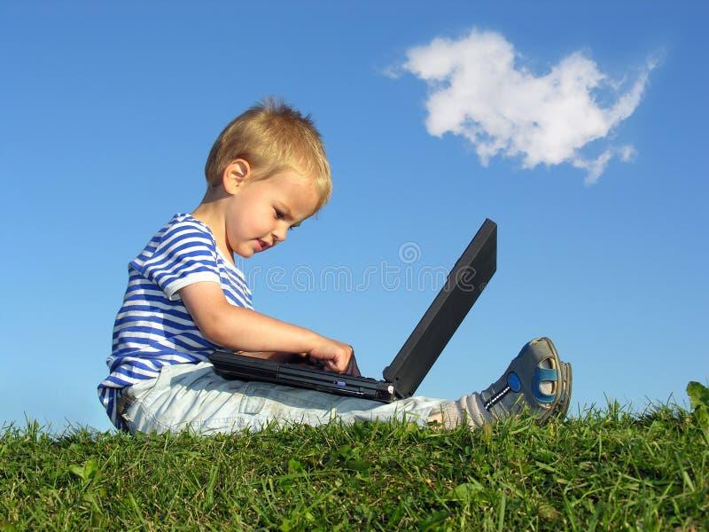 σημειωματάριο παιδιών στοκ εικόνα με δικαίωμα ελεύθερης χρήσης