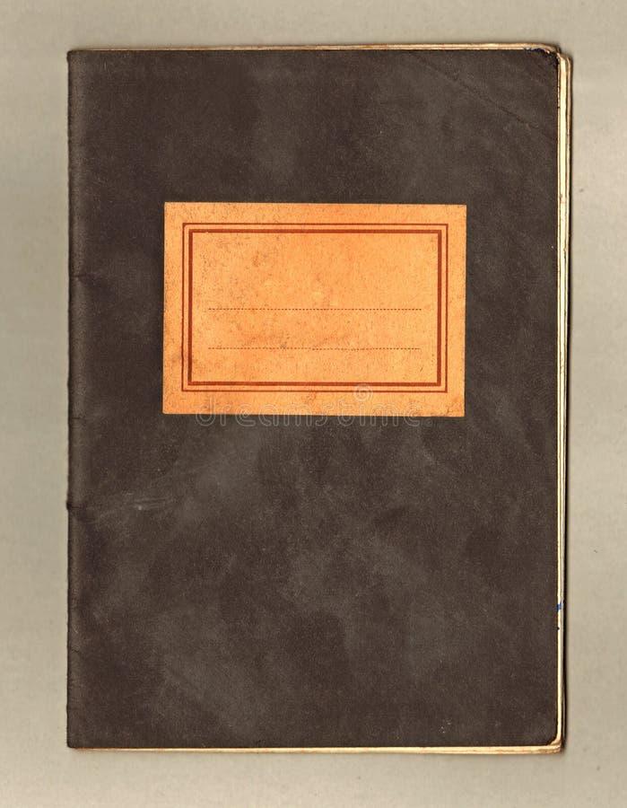 σημειωματάριο παλαιό στοκ φωτογραφίες