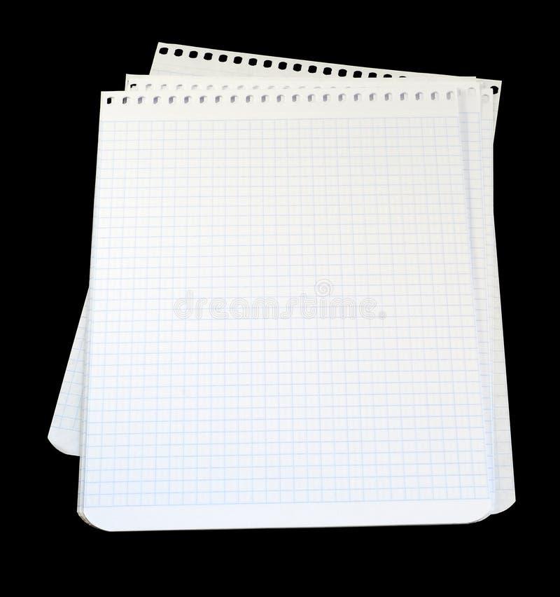 σημειωματάριο φύλλων στοκ εικόνα με δικαίωμα ελεύθερης χρήσης