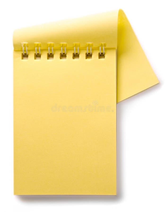 σημειωματάριο στοκ εικόνα