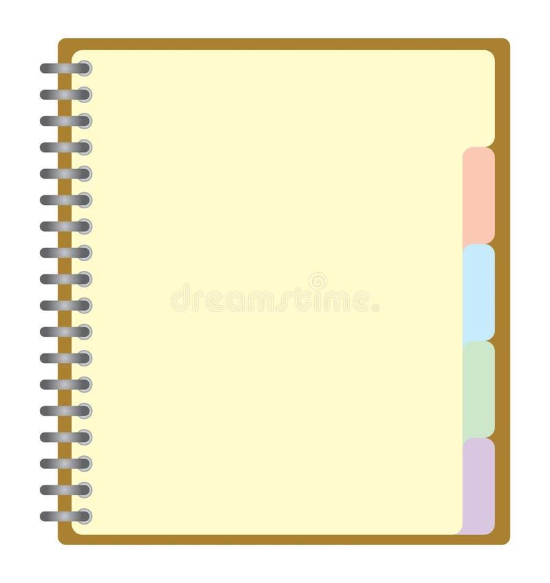 σημειωματάριο ελεύθερη απεικόνιση δικαιώματος