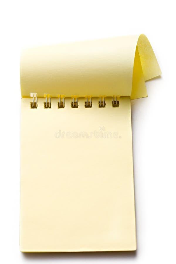 Σημειωματάριο στοκ φωτογραφία