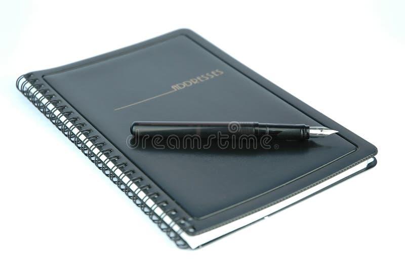 Download σημειωματάριο στοκ εικόνα. εικόνα από έγγραφο, υπογραφή - 99955