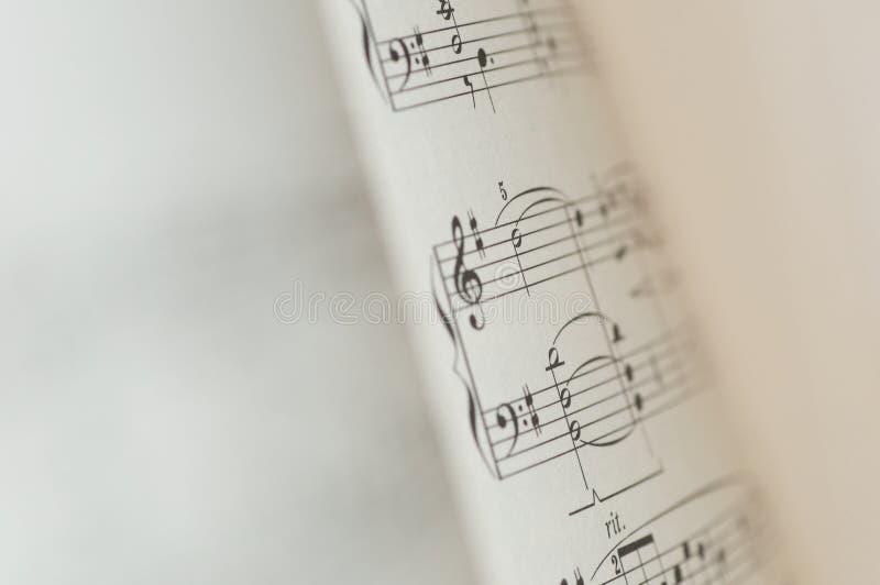 Σημειώσεις μουσικής για το άσπρο υπόβαθρο διανυσματική απεικόνιση