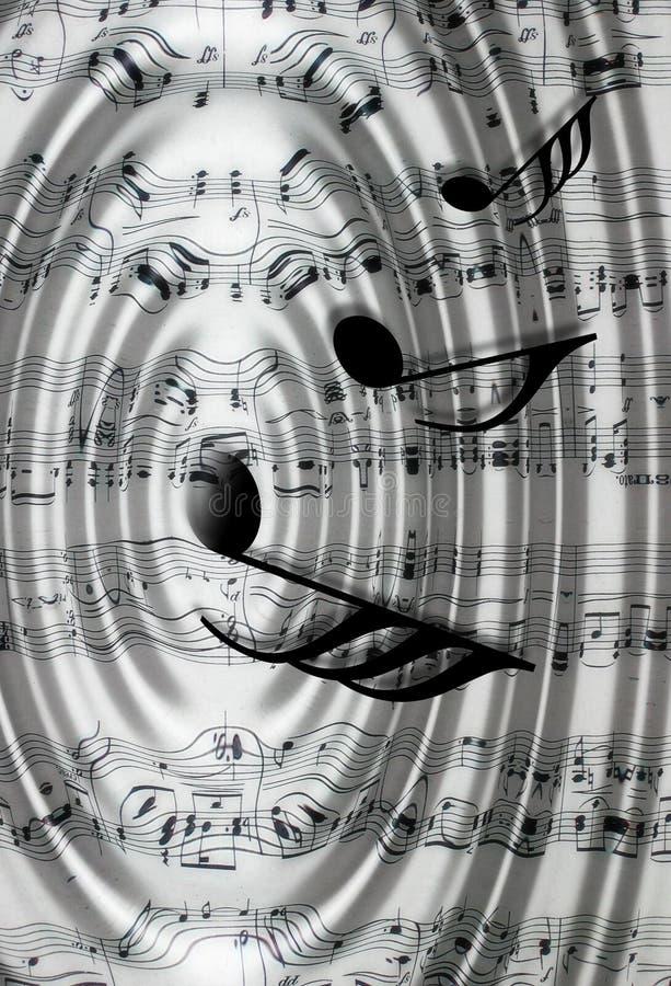σημειώσεις μουσικής διανυσματική απεικόνιση