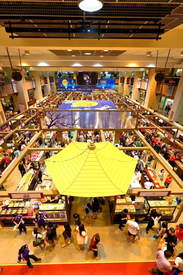 Σιγκαπούρη: Αγορές στοκ φωτογραφίες