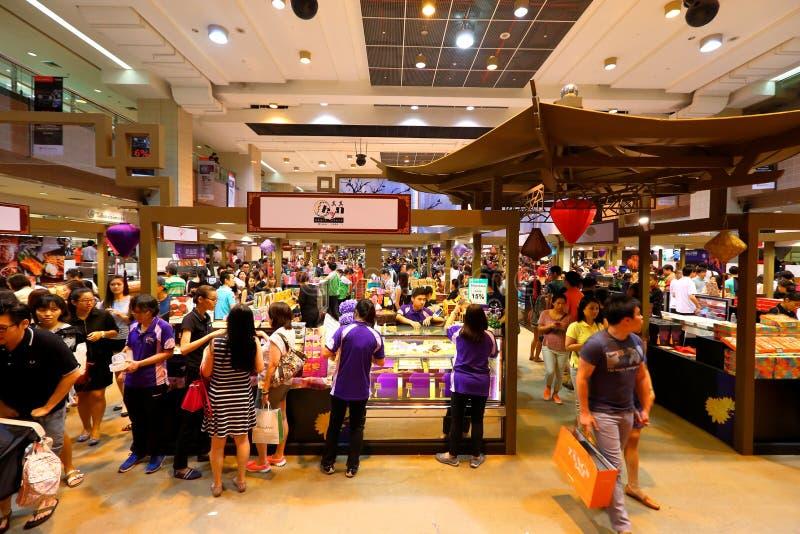 Σιγκαπούρη: Αγορές στοκ εικόνες