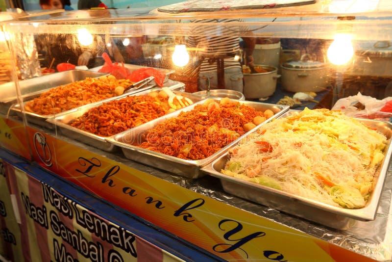 Σιγκαπούρη: Τρόφιμα οδών στοκ φωτογραφία με δικαίωμα ελεύθερης χρήσης