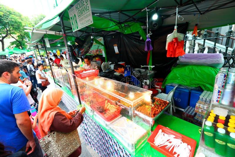 Σιγκαπούρη: Τρόφιμα οδών στοκ εικόνες