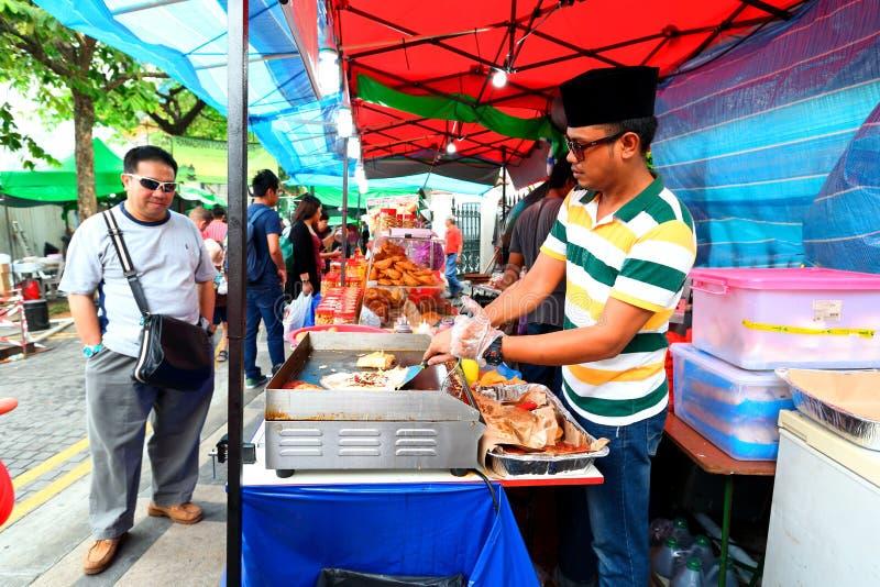 Σιγκαπούρη: Τρόφιμα οδών στοκ φωτογραφίες με δικαίωμα ελεύθερης χρήσης
