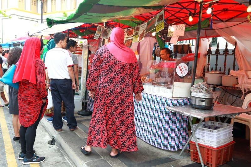 Σιγκαπούρη: Τρόφιμα οδών στοκ εικόνες με δικαίωμα ελεύθερης χρήσης