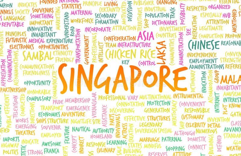 Σιγκαπούρη ελεύθερη απεικόνιση δικαιώματος
