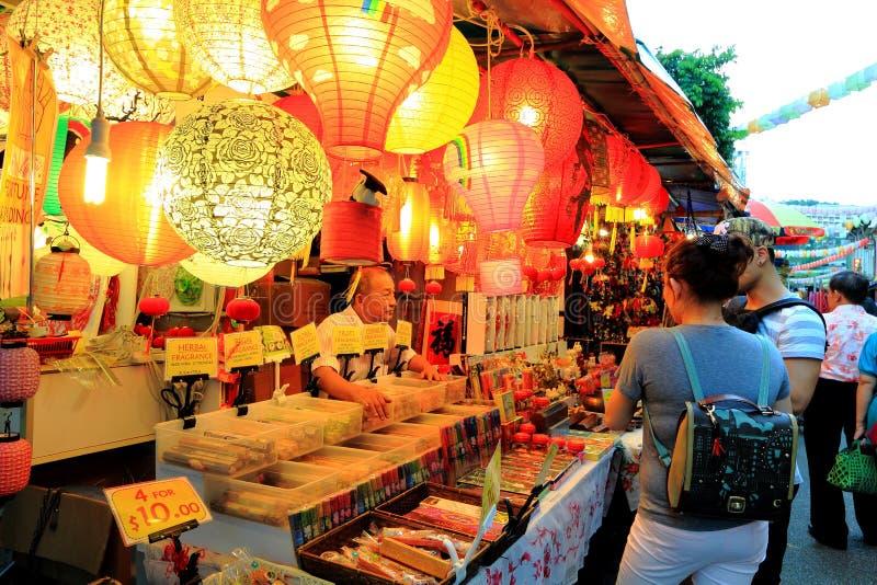 Σιγκαπούρη Chinatown στοκ εικόνα με δικαίωμα ελεύθερης χρήσης