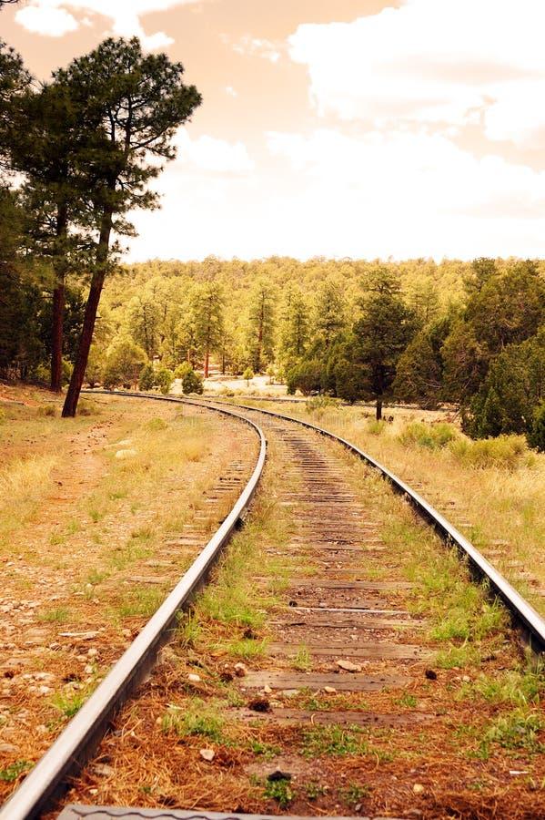 σιδηροδρομική γραμμή στοκ εικόνες με δικαίωμα ελεύθερης χρήσης