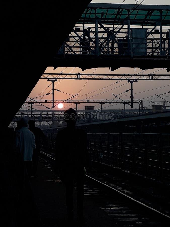Σιδηροδρομικός σταθμός του Jabalpur στοκ εικόνα με δικαίωμα ελεύθερης χρήσης
