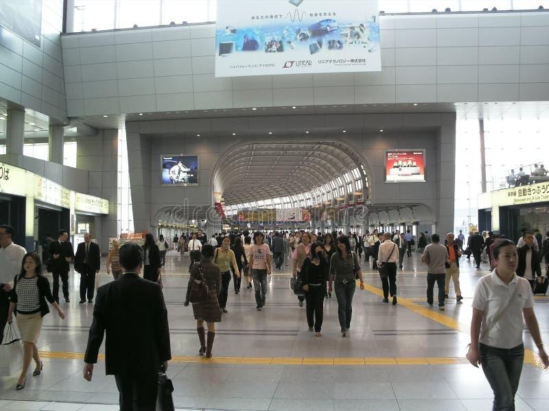 Σιδηροδρομικός σταθμός Shinagawa στοκ φωτογραφία