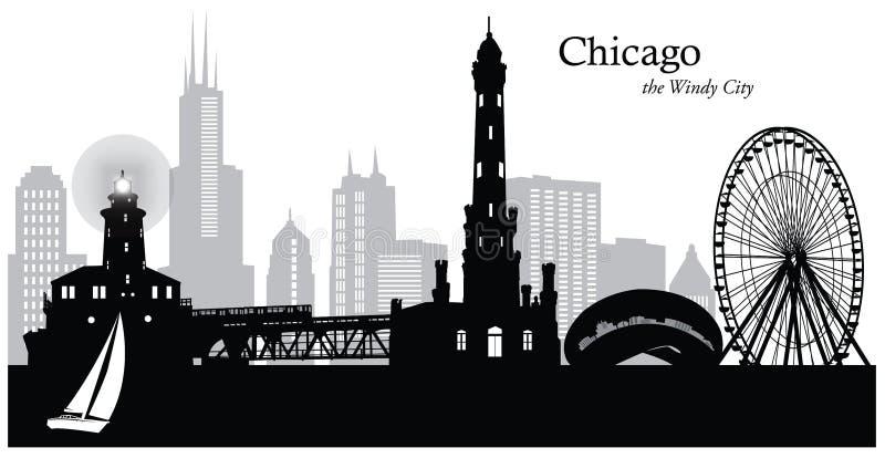 Σικάγο Ιλλινόις ελεύθερη απεικόνιση δικαιώματος