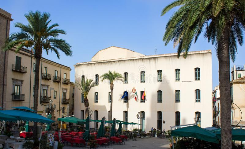 Σικελία, Cefalà ¹ στοκ εικόνα