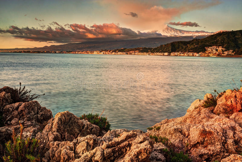 Σικελία: Etna στοκ φωτογραφία με δικαίωμα ελεύθερης χρήσης