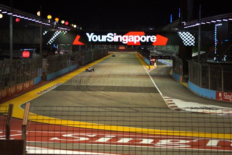 Σινγκαπούρη F1 στοκ φωτογραφία με δικαίωμα ελεύθερης χρήσης