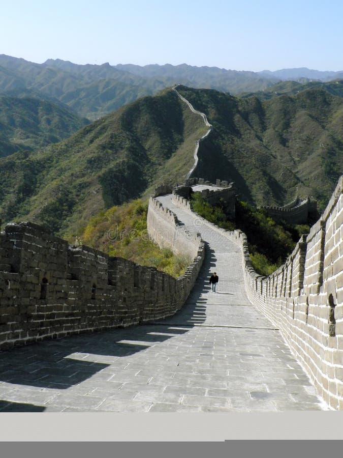 Σινικό Τείχος ραχών στοκ εικόνες
