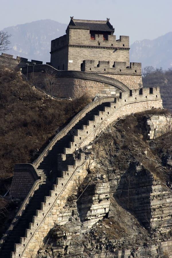 Σινικό Τείχος στοκ εικόνα με δικαίωμα ελεύθερης χρήσης