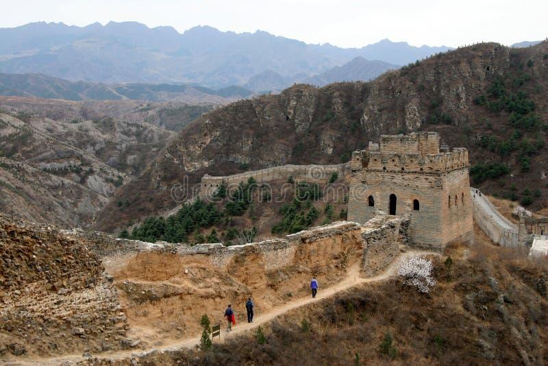 Σινικό Τείχος στοκ φωτογραφίες με δικαίωμα ελεύθερης χρήσης