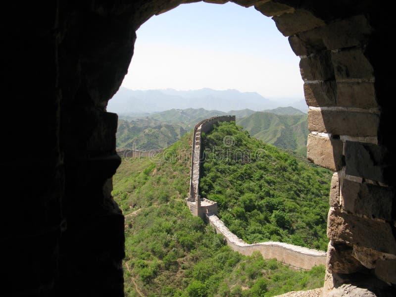 Σινικό Τείχος στοκ εικόνες