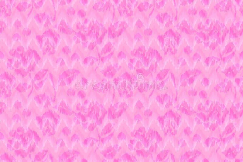 Σιριτιών floral υπόβαθρο τυπωμένων υλών τρεκλίσματος σχεδίων άνευ ραφής ikat διανυσματική απεικόνιση
