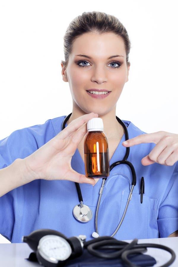 σιρόπι γιατρών στοκ εικόνα