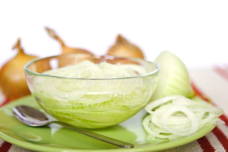 Download σιρόπι κρεμμυδιών στοκ εικόνες. εικόνα από γεύμα, σφαιριστών - 390176