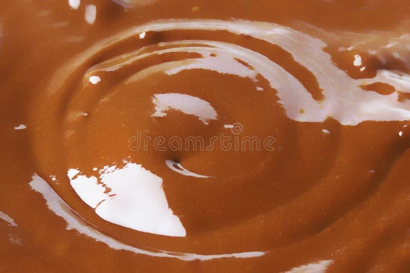 σιρόπι σοκολάτας στοκ εικόνες