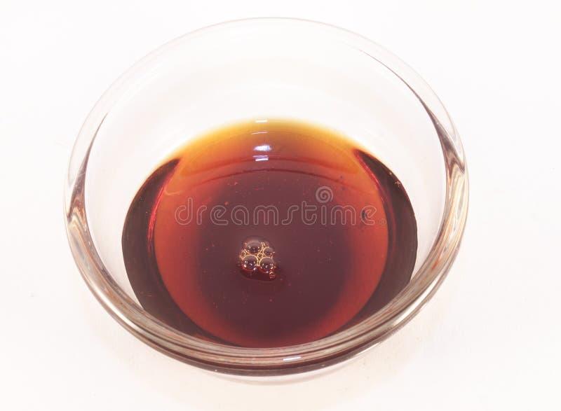 Σιρόπι σφενδάμνου στοκ φωτογραφία