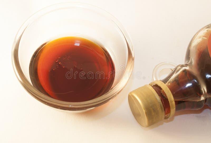 Σιρόπι σφενδάμνου στοκ εικόνα