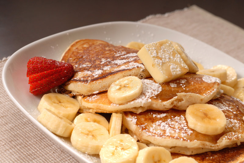 σιρόπι τηγανιτών μπανανών στοκ φωτογραφία με δικαίωμα ελεύθερης χρήσης