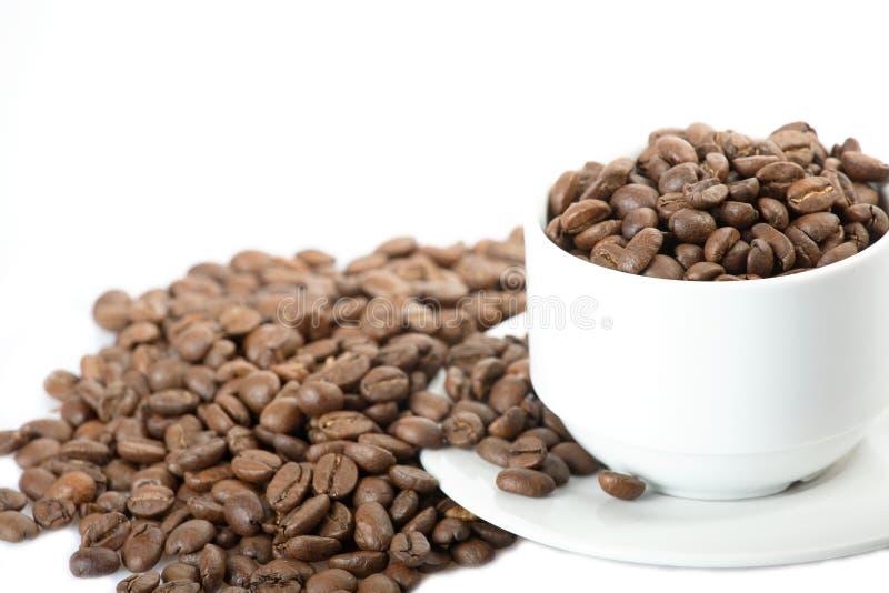 σιτάρια φλυτζανιών καφέ στοκ εικόνα με δικαίωμα ελεύθερης χρήσης