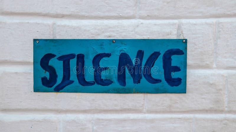 Σιωπή στοκ φωτογραφίες