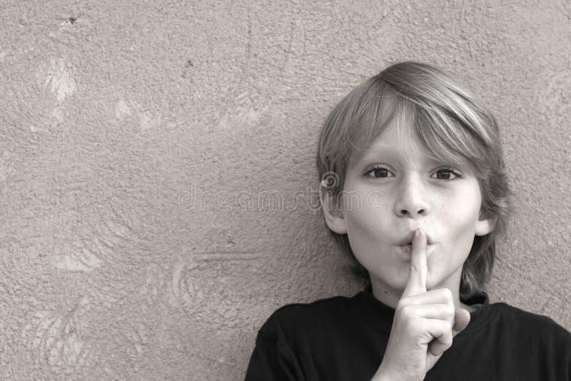 σιωπή στοκ φωτογραφία με δικαίωμα ελεύθερης χρήσης