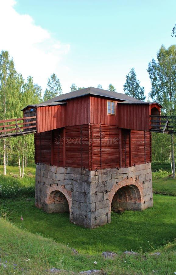 Σιδηρουργεία Rosfors σε Norrbotten στοκ εικόνες