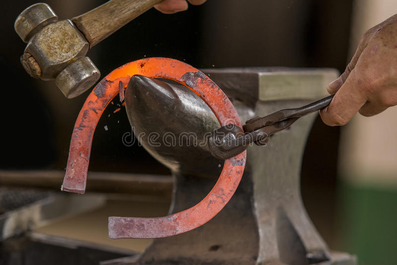 Σιδηρουργός στοκ φωτογραφία