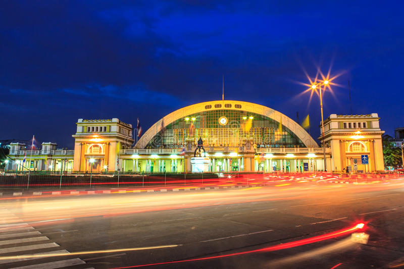 Σιδηροδρομικός σταθμός της Μπανγκόκ στοκ φωτογραφία με δικαίωμα ελεύθερης χρήσης